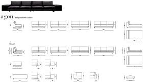 sofa _agon desiree 05.WYMIARY