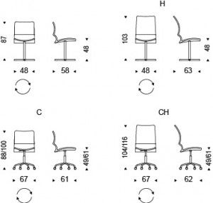 Szablon Krzeslo_Vita CattelanItalia